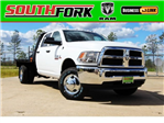 2017 Ram 3500 Crew Cab DRW 4x4, Platform Body #HG758788 - photo 1