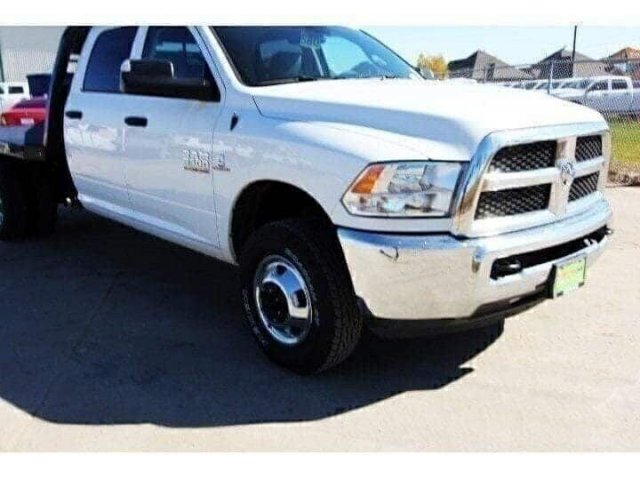 2018 Ram 3500 Crew Cab DRW 4x4,  CM Truck Beds Platform Body #JG295009 - photo 9
