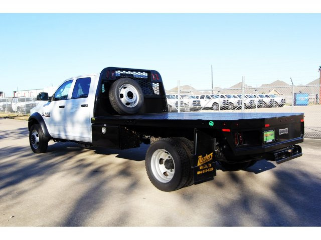 2018 Ram 4500 Crew Cab DRW 4x4,  Platform Body #JG320490 - photo 6