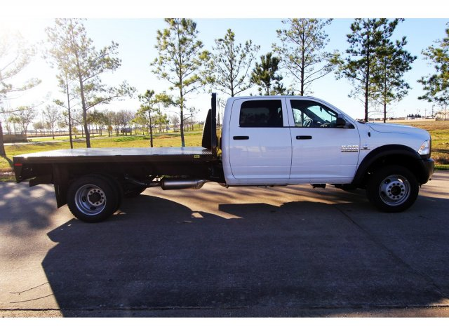 2018 Ram 4500 Crew Cab DRW 4x4,  Platform Body #JG320490 - photo 8
