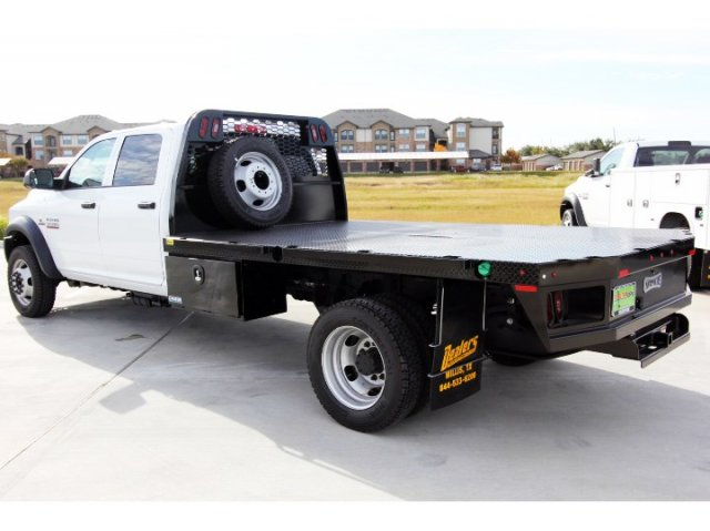 2018 Ram 5500 Crew Cab DRW 4x4,  Knapheide Platform Body #JG321354 - photo 6
