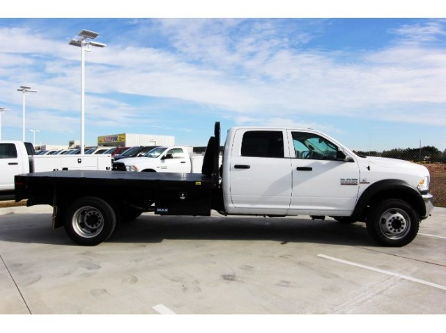 2018 Ram 5500 Crew Cab DRW 4x4,  Knapheide Platform Body #JG321354 - photo 8