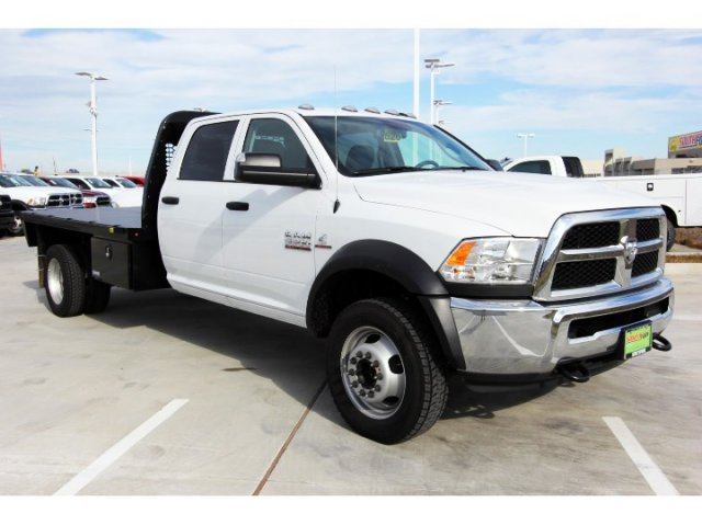 2018 Ram 5500 Crew Cab DRW 4x4,  Knapheide Platform Body #JG321354 - photo 9