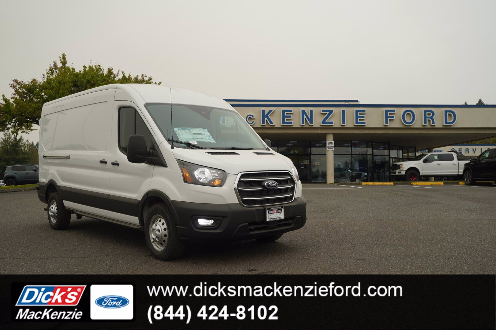 2020 Ford Transit 250 Med Roof AWD, Empty Cargo Van #208538 - photo 1