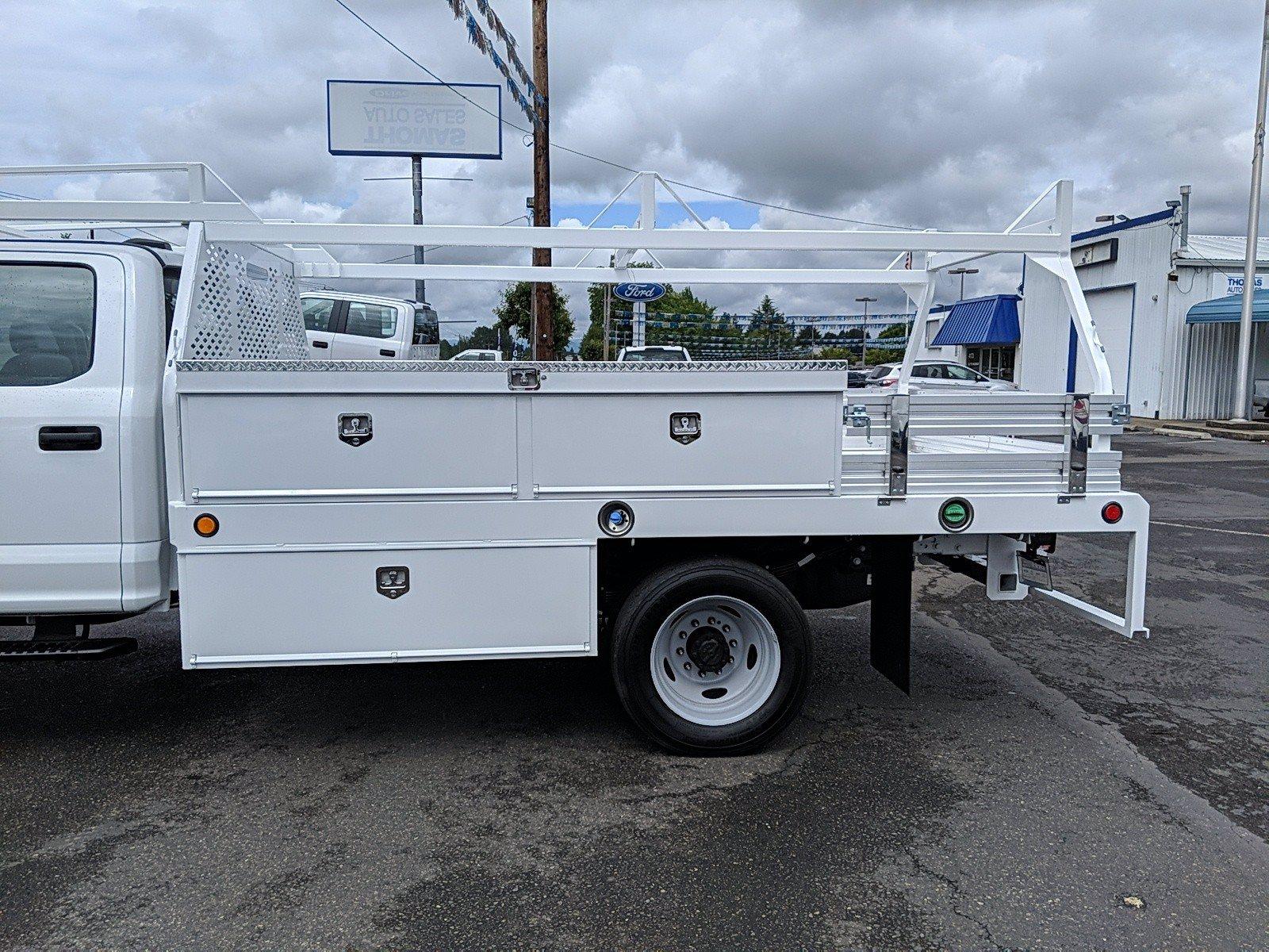 2020 Ford F-550 Crew Cab DRW 4x4, Scelzi Contractor Body #209419 - photo 1
