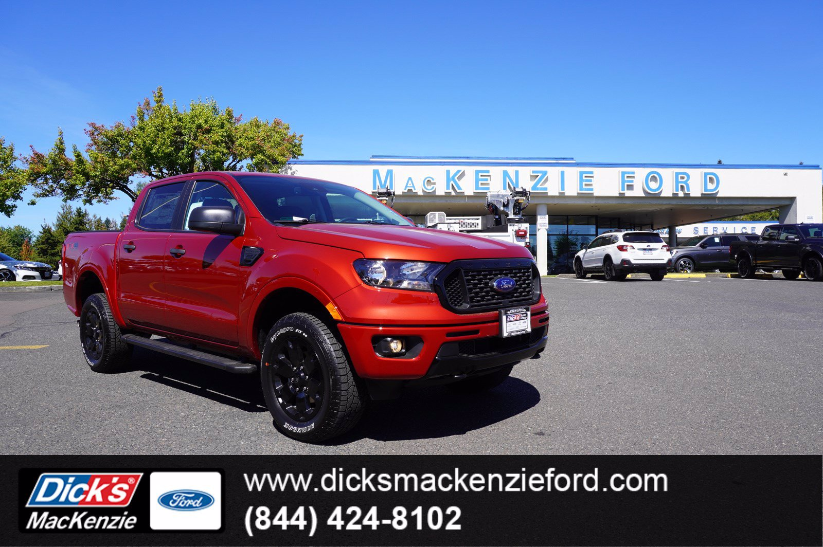 2020 Ford Ranger SuperCrew Cab 4x4, Pickup #209543T - photo 1