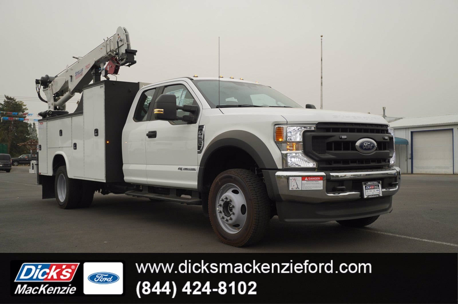 2020 Ford F-550 Super Cab DRW 4x4, Knapheide Mechanics Body #209565 - photo 1