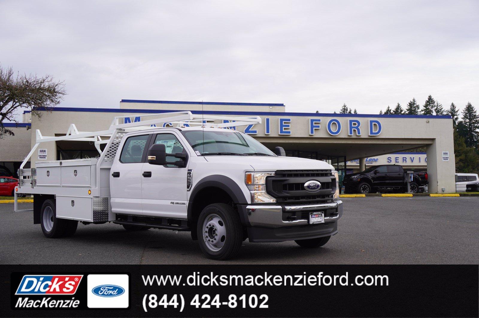 2020 Ford F-550 Crew Cab DRW 4x4, Scelzi Contractor Body #209675 - photo 1