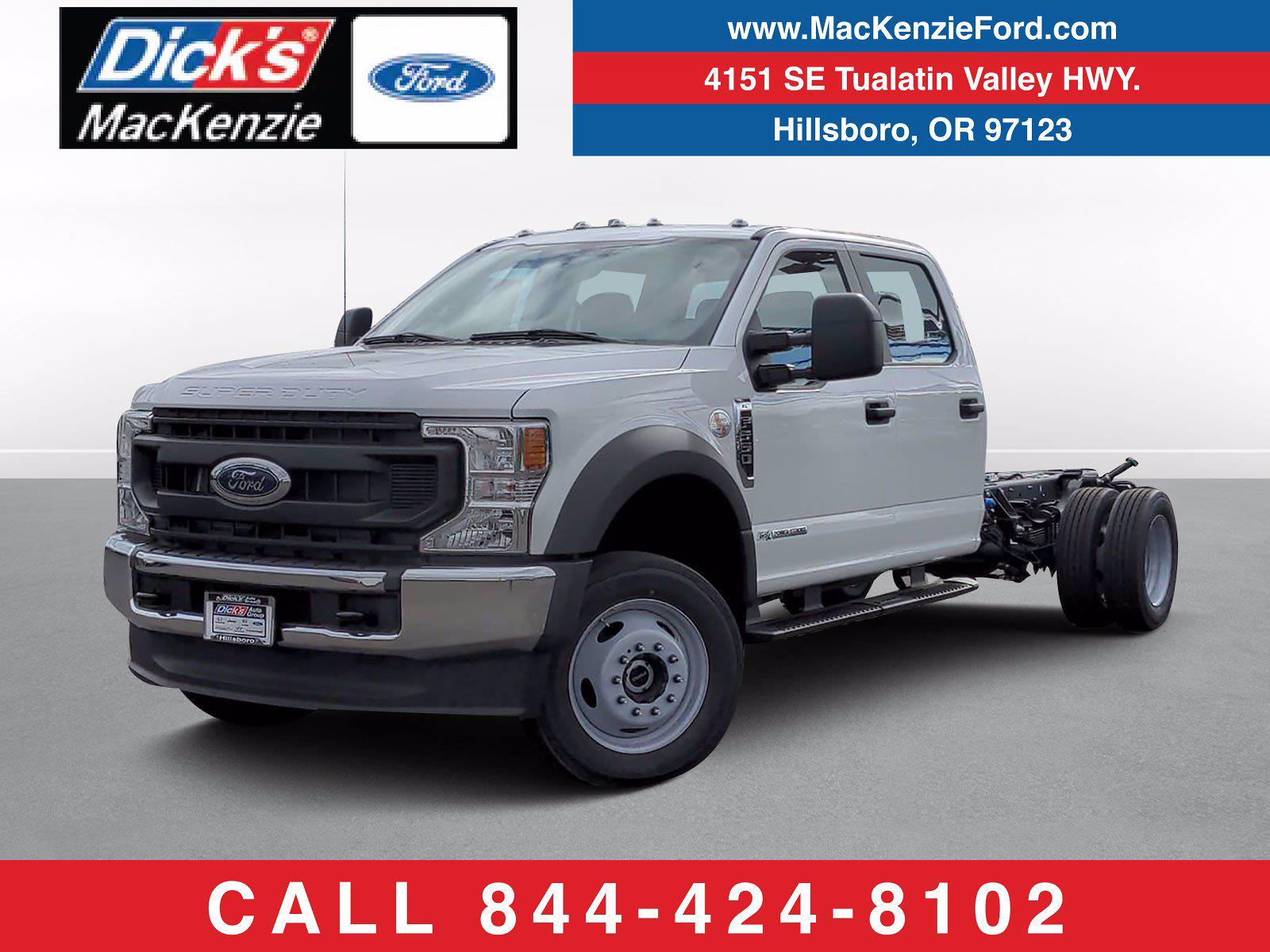 2021 Ford F-550 Crew Cab DRW 4x4, Cab Chassis #219467 - photo 1