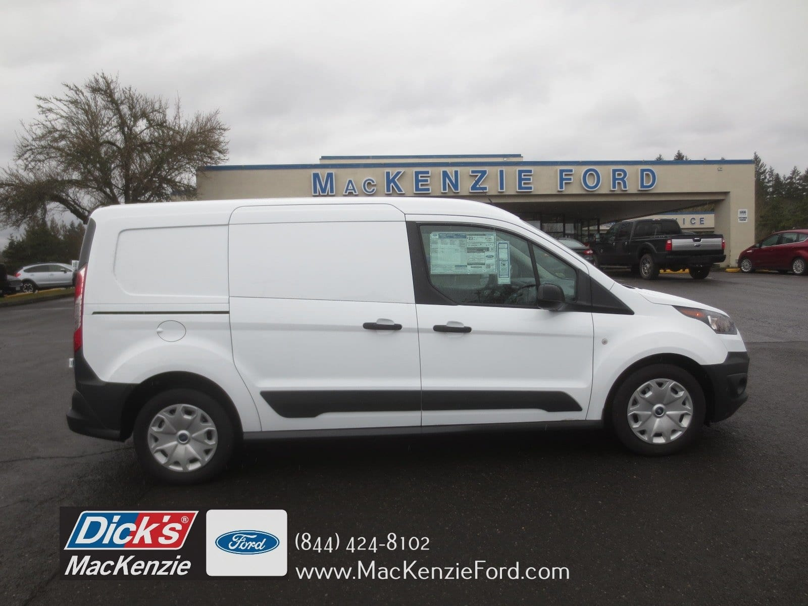 2017 Transit Connect 4x2 Empty Cargo Van 278714