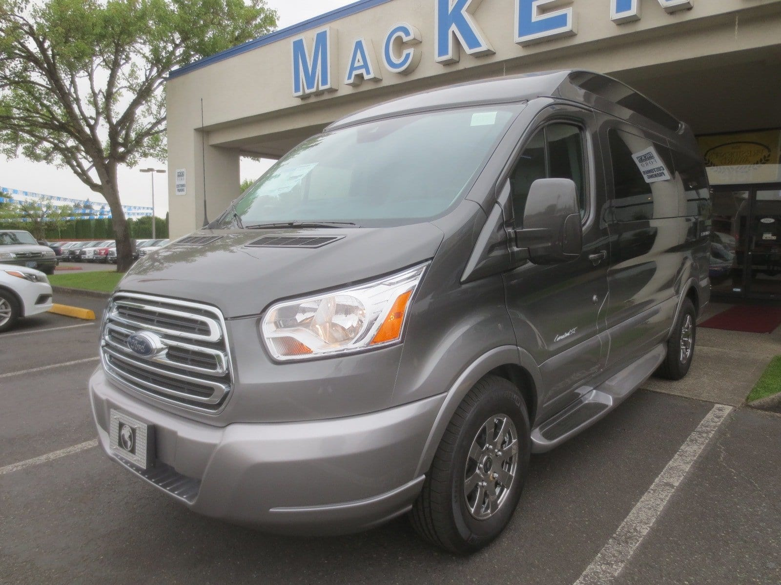 2017 Transit 150 Low Roof 4x2,  Passenger Wagon #278740 - photo 4