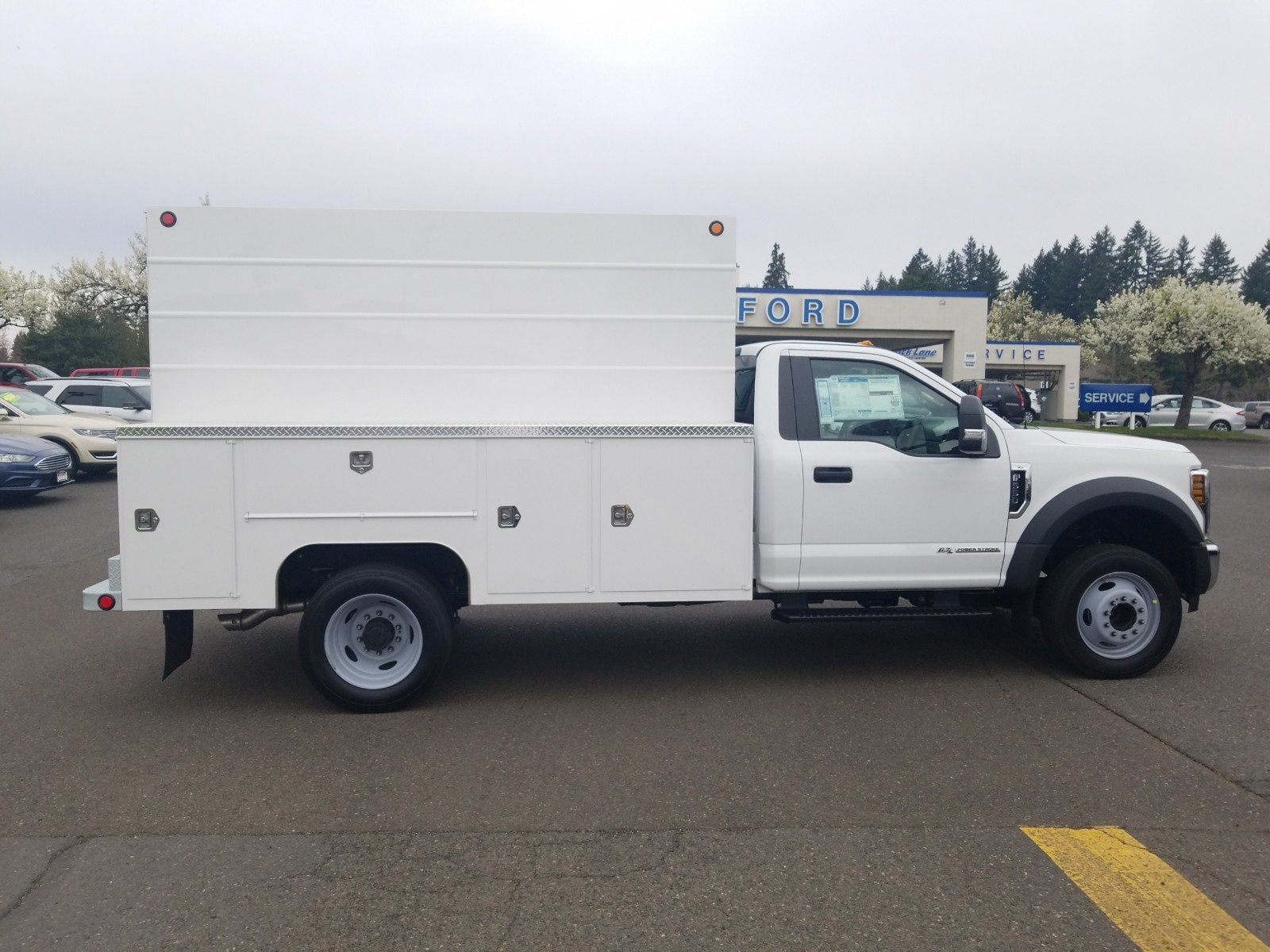 2019 F-550 Regular Cab DRW 4x2, Scelzi Service Body #299674 - photo 1