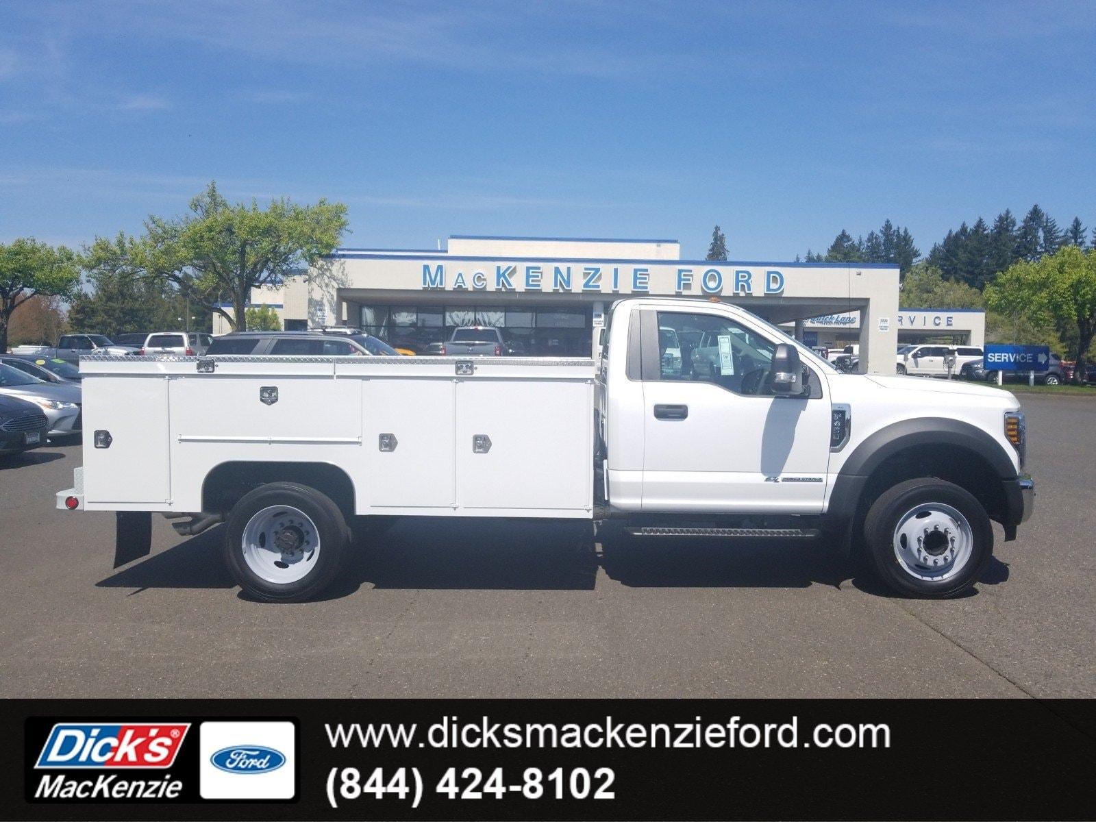 2019 Ford F-450 Regular Cab DRW 4x2, Scelzi Service Body #299683 - photo 1