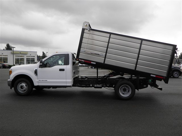 2017 F-350 Regular Cab DRW, The Fab Shop Landscape Dump #17F1236 - photo 3