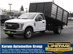 2017 F-350 Regular Cab DRW, The Fab Shop Landscape Dump #17F1236 - photo 1