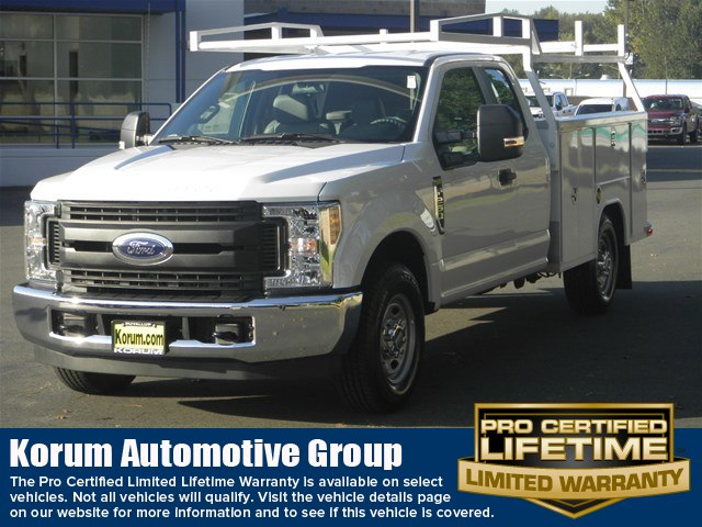 2018 F-250 Super Cab 4x2,  Harbor TradeMaster Service Body #18F1172 - photo 1