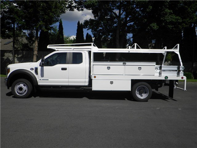 2018 F-450 Super Cab DRW 4x2,  Scelzi CTFB Contractor Body #18F742 - photo 3