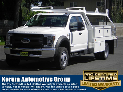 2018 F-450 Super Cab DRW 4x2,  Scelzi CTFB Contractor Body #18F742 - photo 1