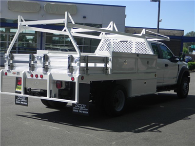 2018 F-450 Super Cab DRW 4x2,  Scelzi CTFB Contractor Body #18F742 - photo 2