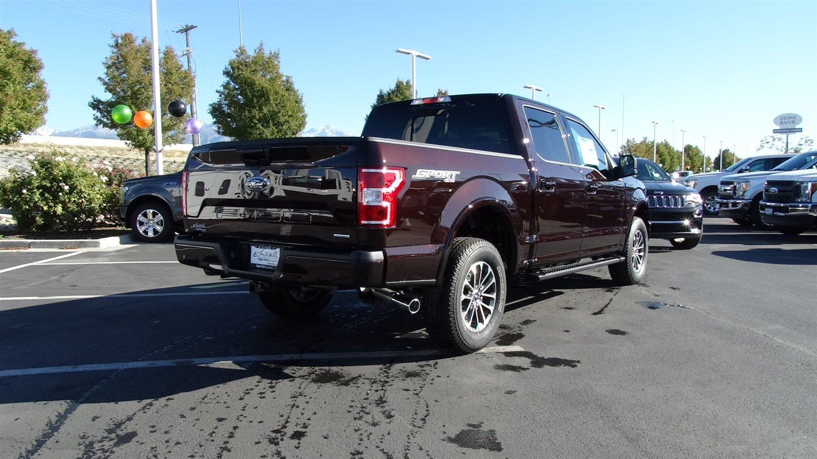 2018 F-150 SuperCrew Cab 4x4,  Pickup #50130 - photo 2