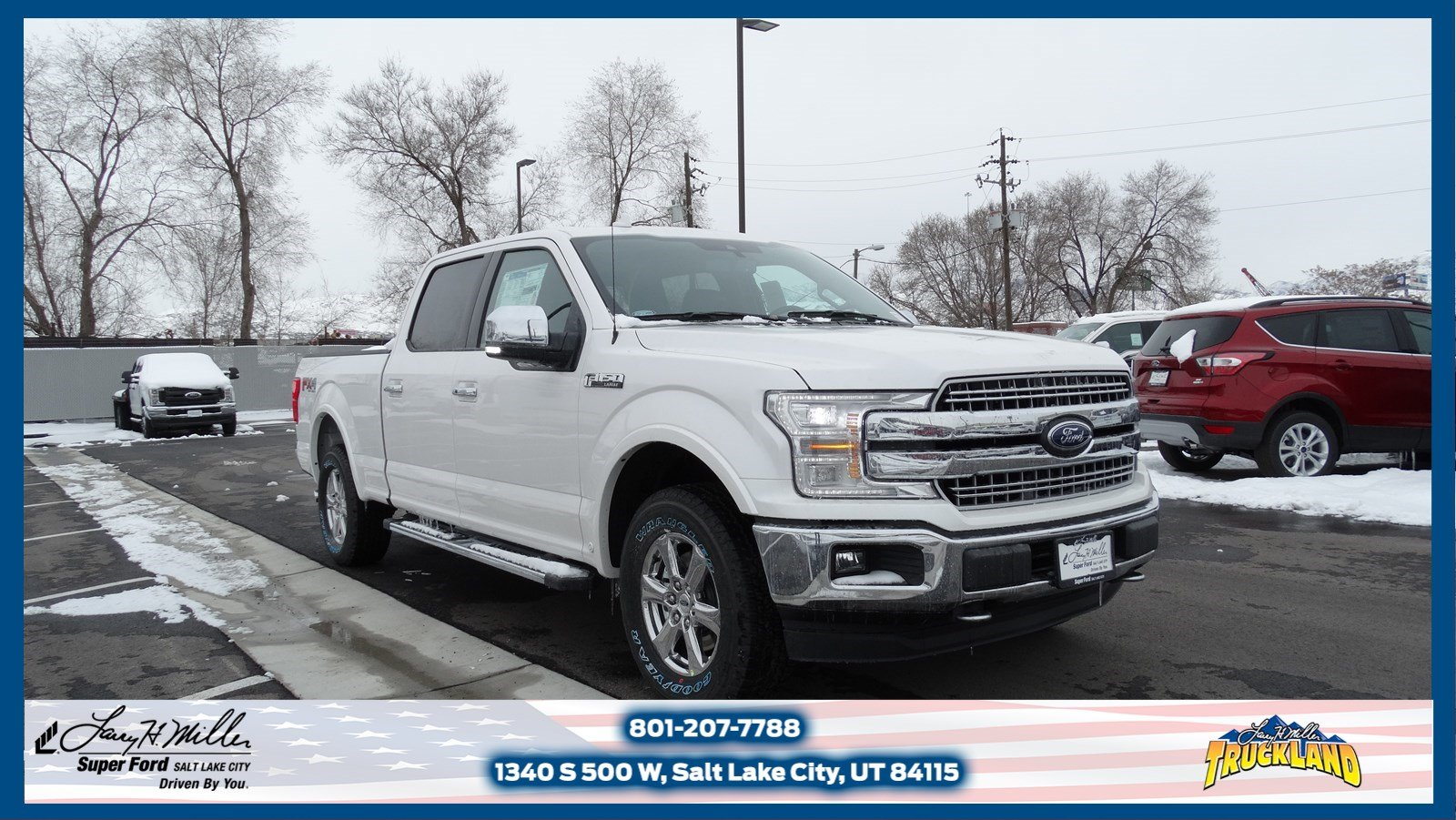 2018 F-150 SuperCrew Cab 4x4,  Pickup #50500 - photo 1