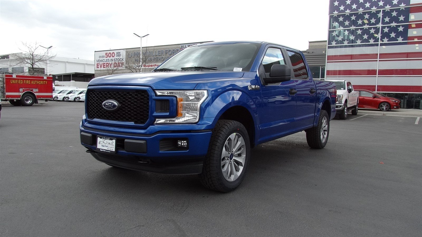 2018 F-150 SuperCrew Cab 4x4,  Pickup #50575 - photo 7