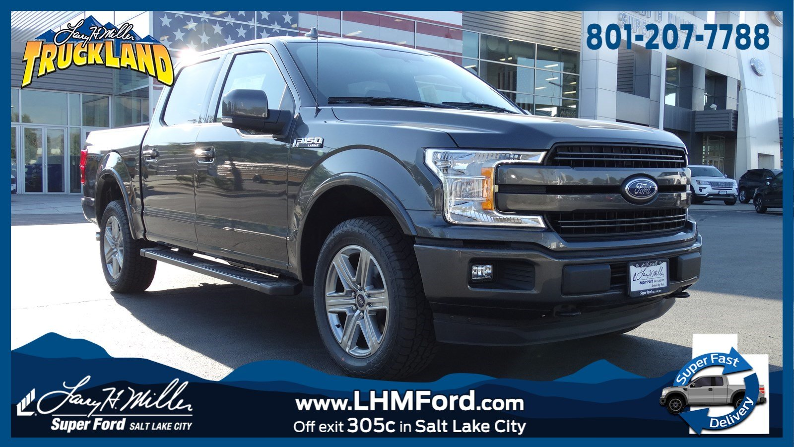 2018 F-150 SuperCrew Cab 4x4,  Pickup #51101 - photo 1