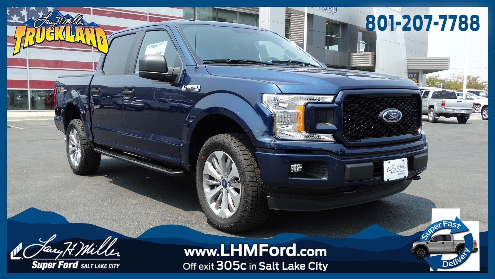 2018 F-150 SuperCrew Cab 4x4,  Pickup #51198 - photo 1