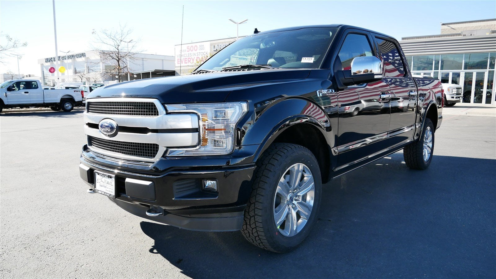 2018 F-150 SuperCrew Cab 4x4,  Pickup #51391 - photo 8