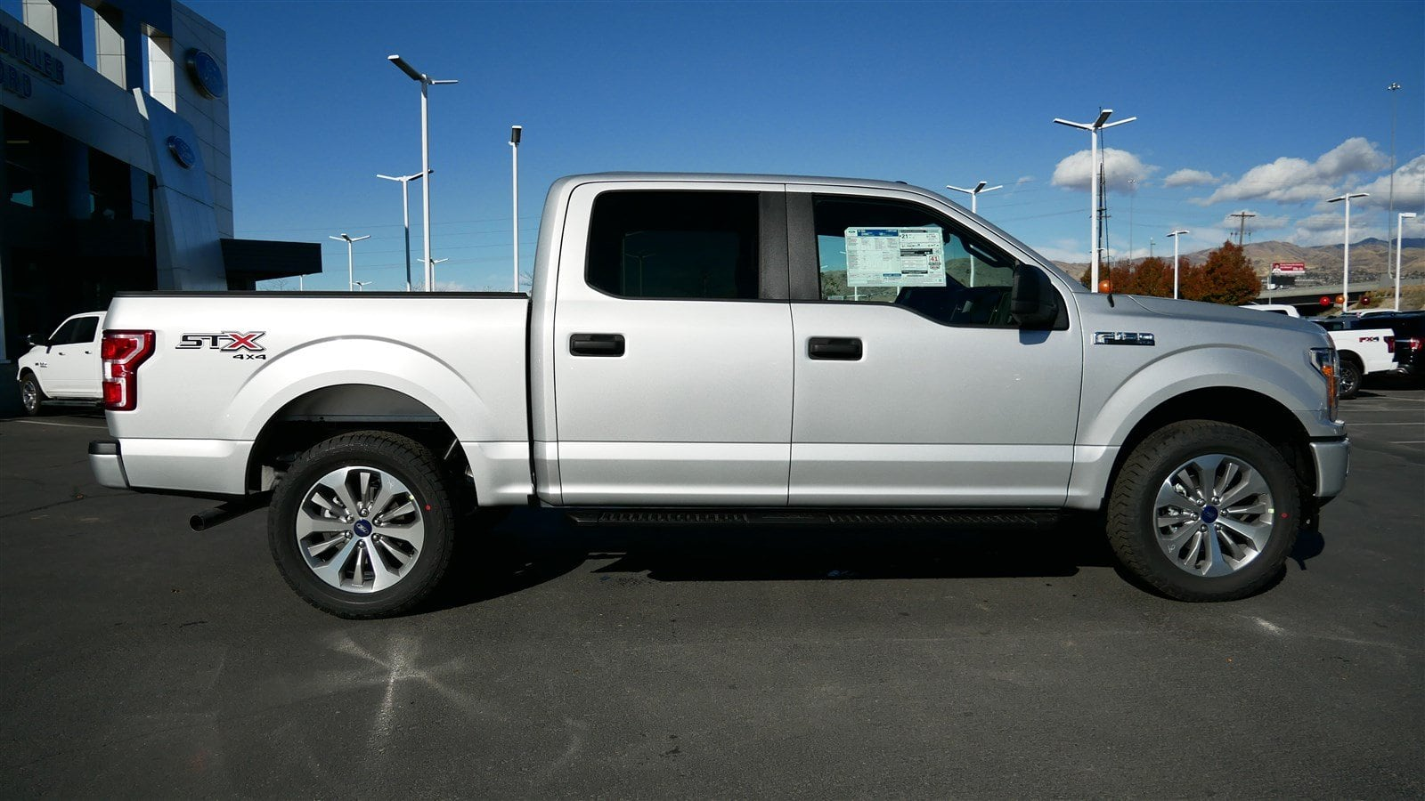 2018 F-150 SuperCrew Cab 4x4,  Pickup #51392 - photo 3