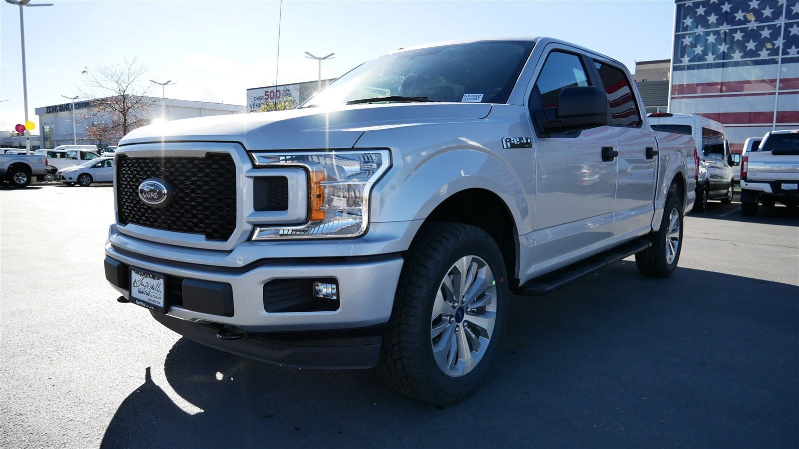 2018 F-150 SuperCrew Cab 4x4,  Pickup #51392 - photo 8