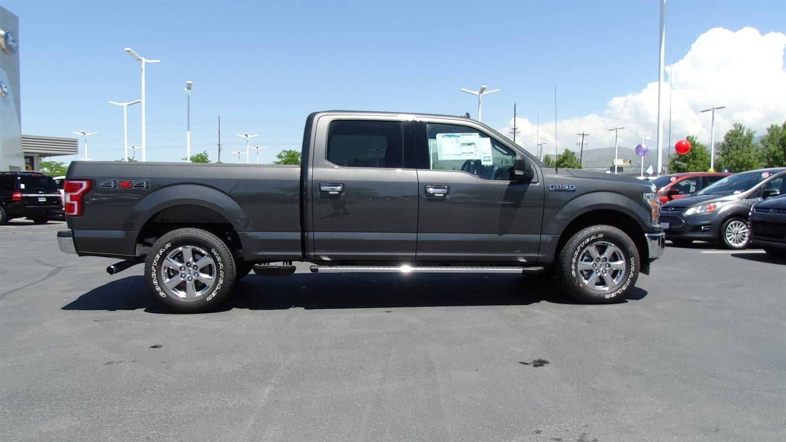 2018 F-150 SuperCrew Cab 4x4,  Pickup #55198 - photo 3