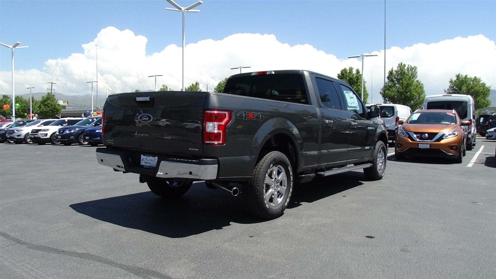 2018 F-150 SuperCrew Cab 4x4,  Pickup #55198 - photo 2