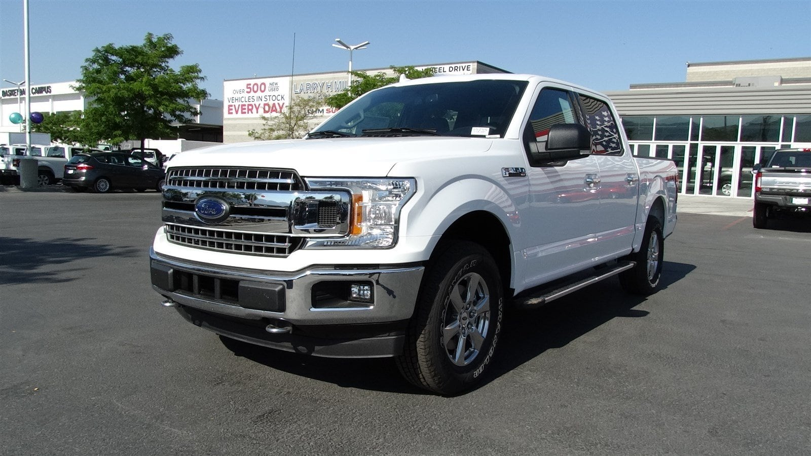2018 F-150 SuperCrew Cab 4x4,  Pickup #55255 - photo 7
