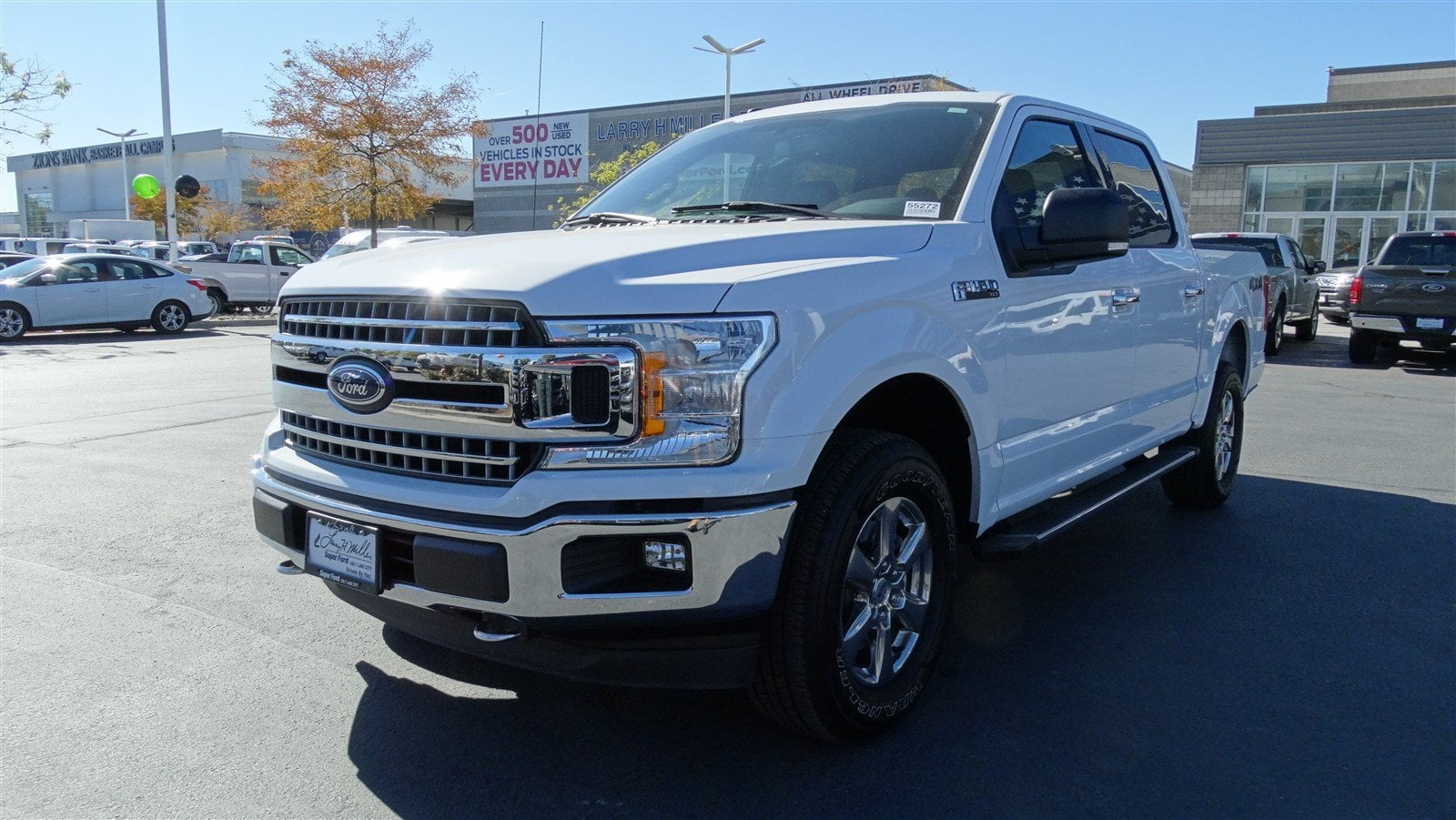 2018 F-150 SuperCrew Cab 4x4,  Pickup #55272 - photo 8
