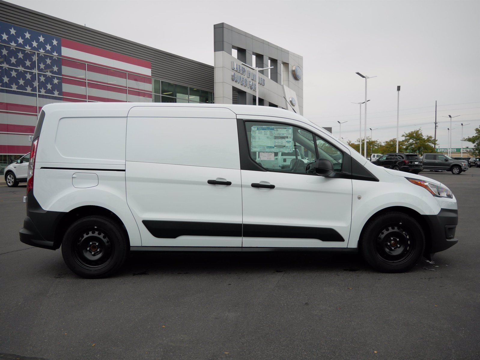2020 Ford Transit Connect FWD, Empty Cargo Van #62206 - photo 3