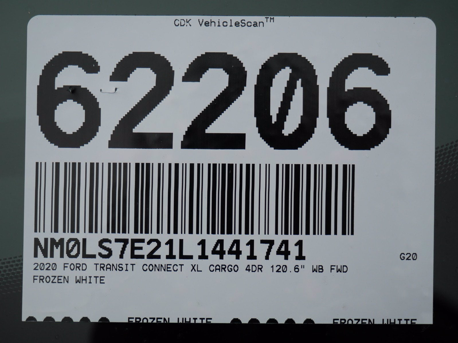 2020 Ford Transit Connect FWD, Empty Cargo Van #62206 - photo 30