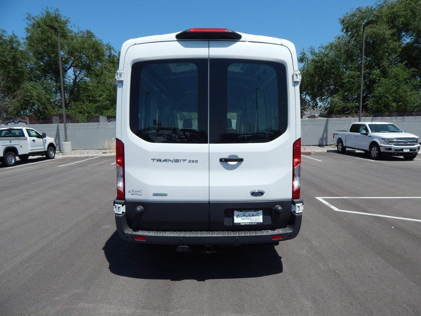 2018 Transit 350 Med Roof 4x2,  Empty Cargo Van #62813 - photo 7