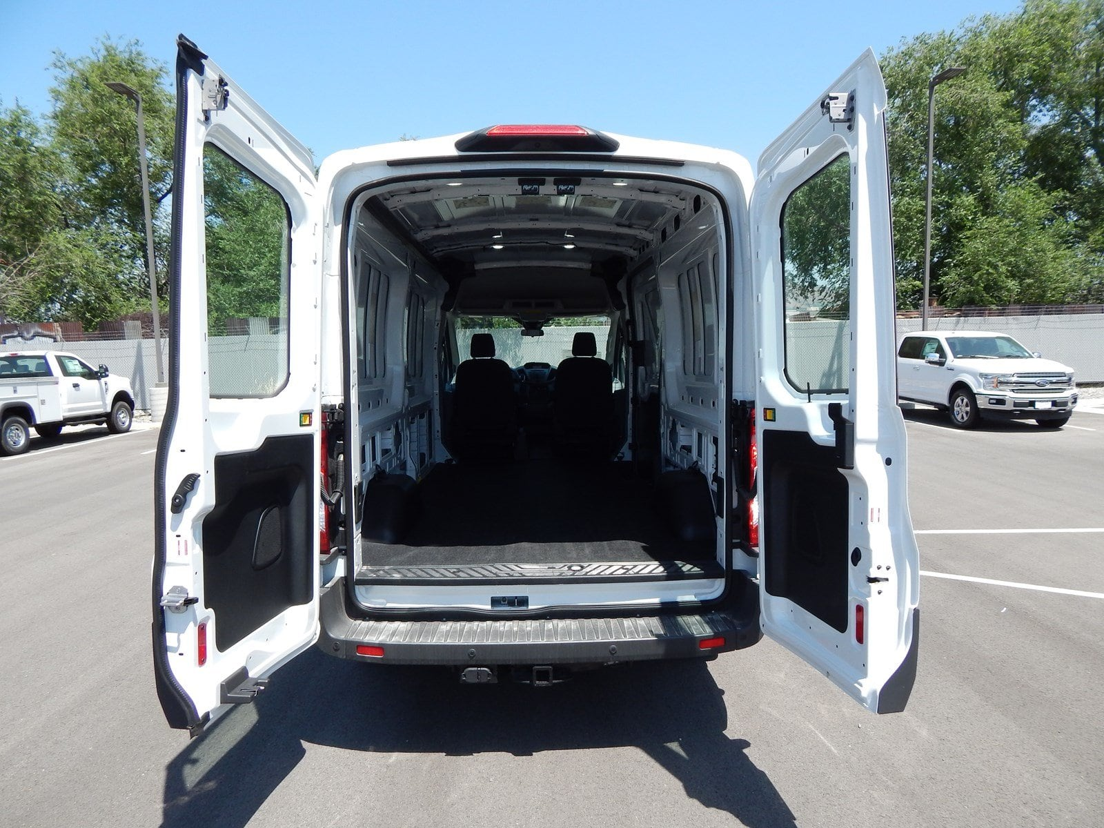 2018 Transit 350 Med Roof 4x2,  Empty Cargo Van #62813 - photo 2