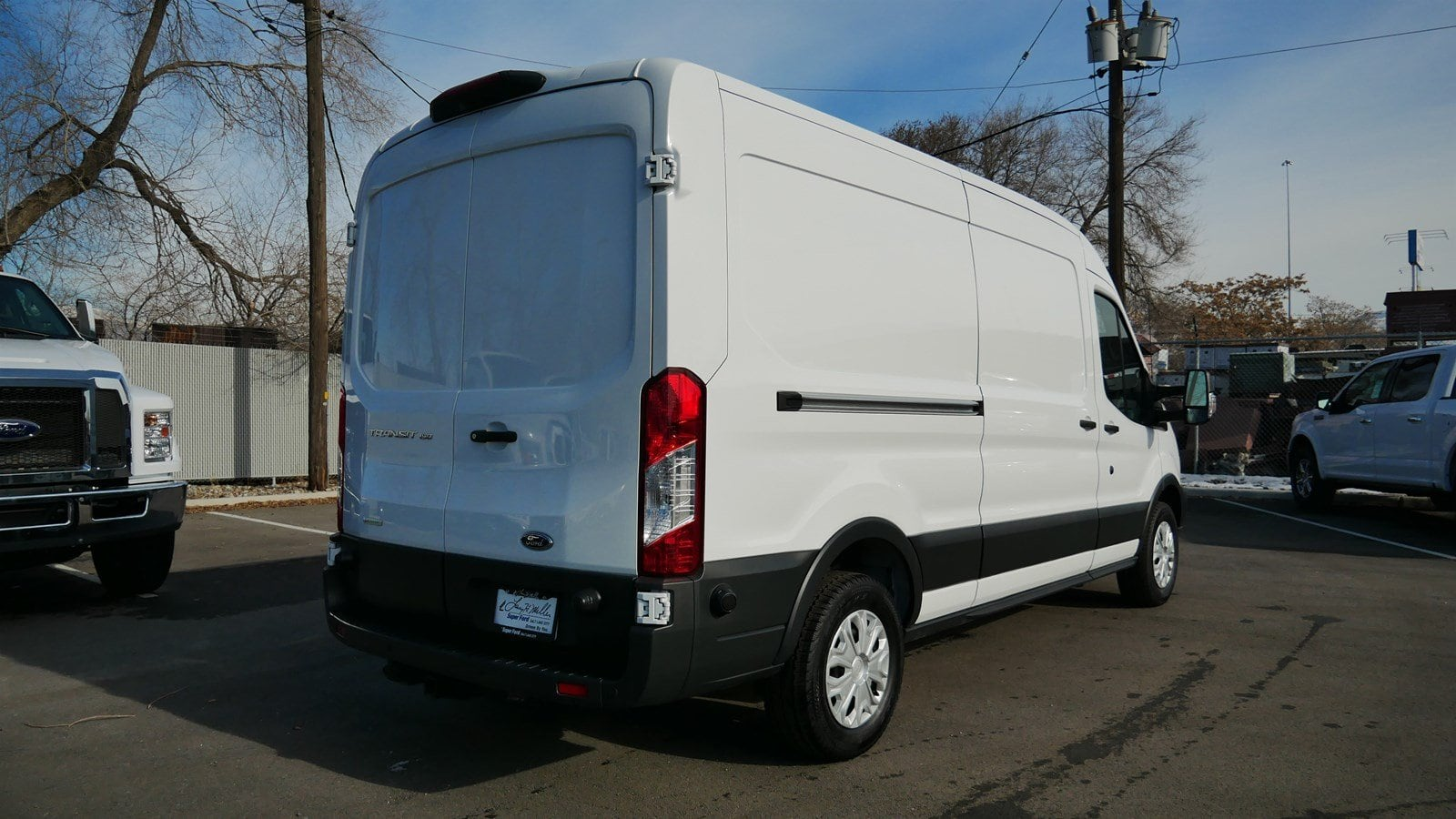 2018 Transit 150 Med Roof 4x2,  Empty Cargo Van #62854 - photo 5