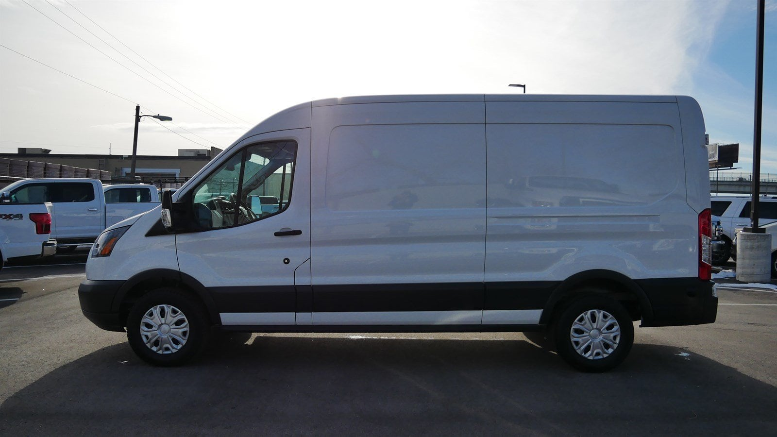 2018 Transit 150 Med Roof 4x2,  Empty Cargo Van #62854 - photo 8