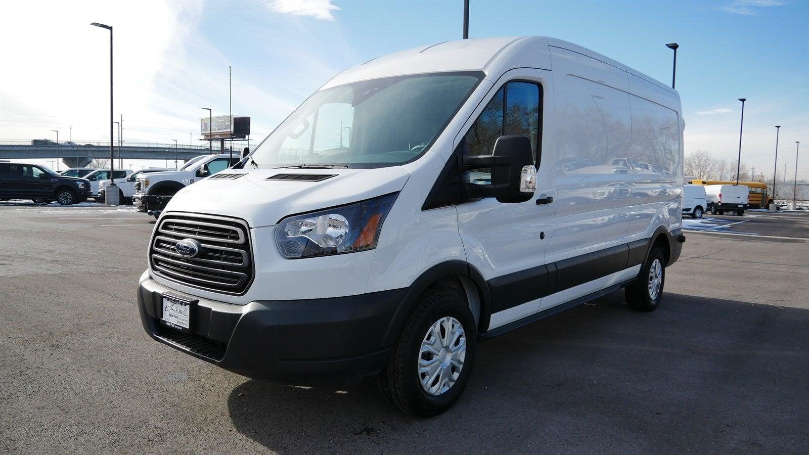 2018 Transit 150 Med Roof 4x2,  Empty Cargo Van #62854 - photo 9