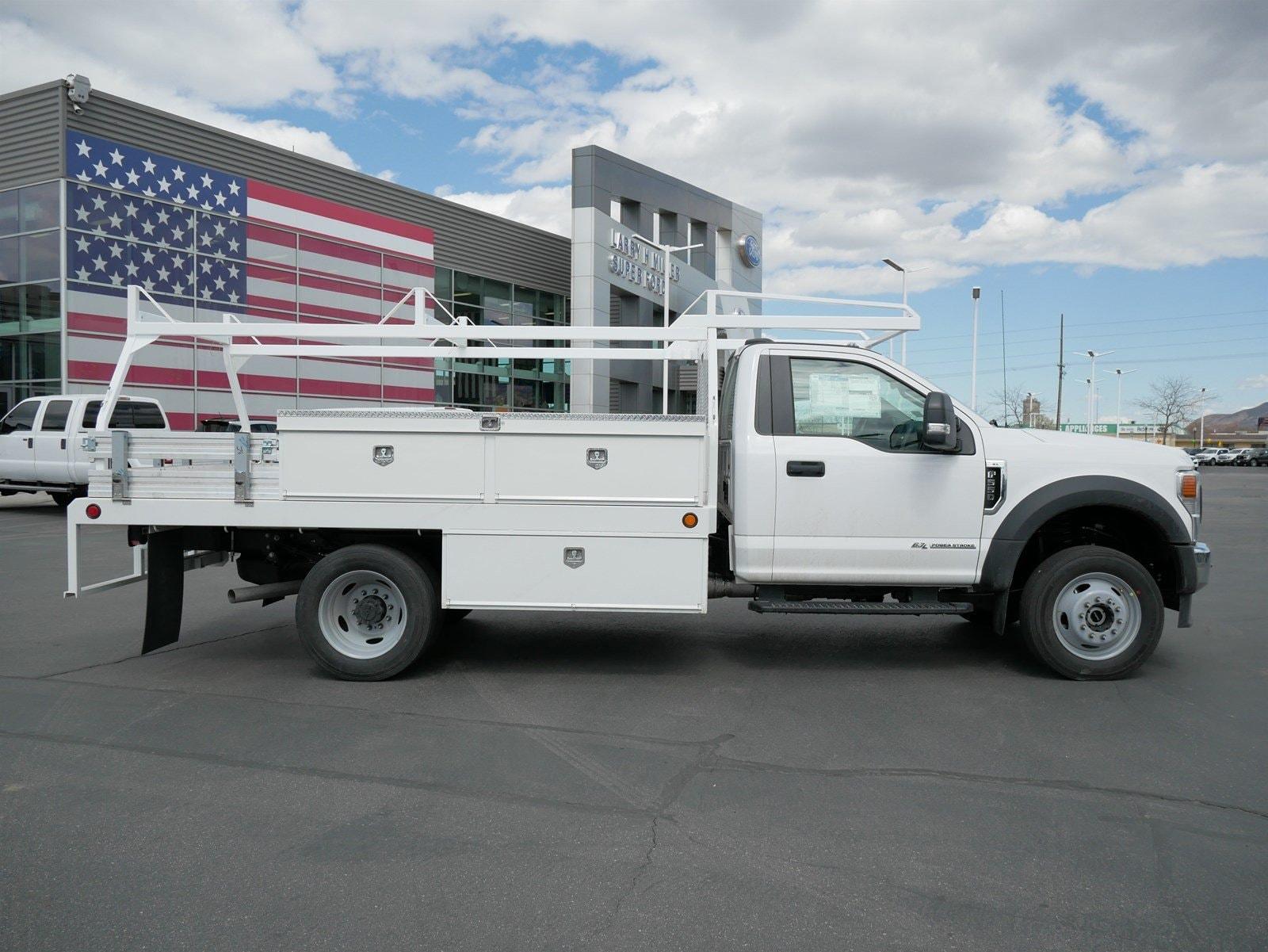 2020 F-550 Regular Cab DRW 4x4, Scelzi CTFB Contractor Body #63090 - photo 4