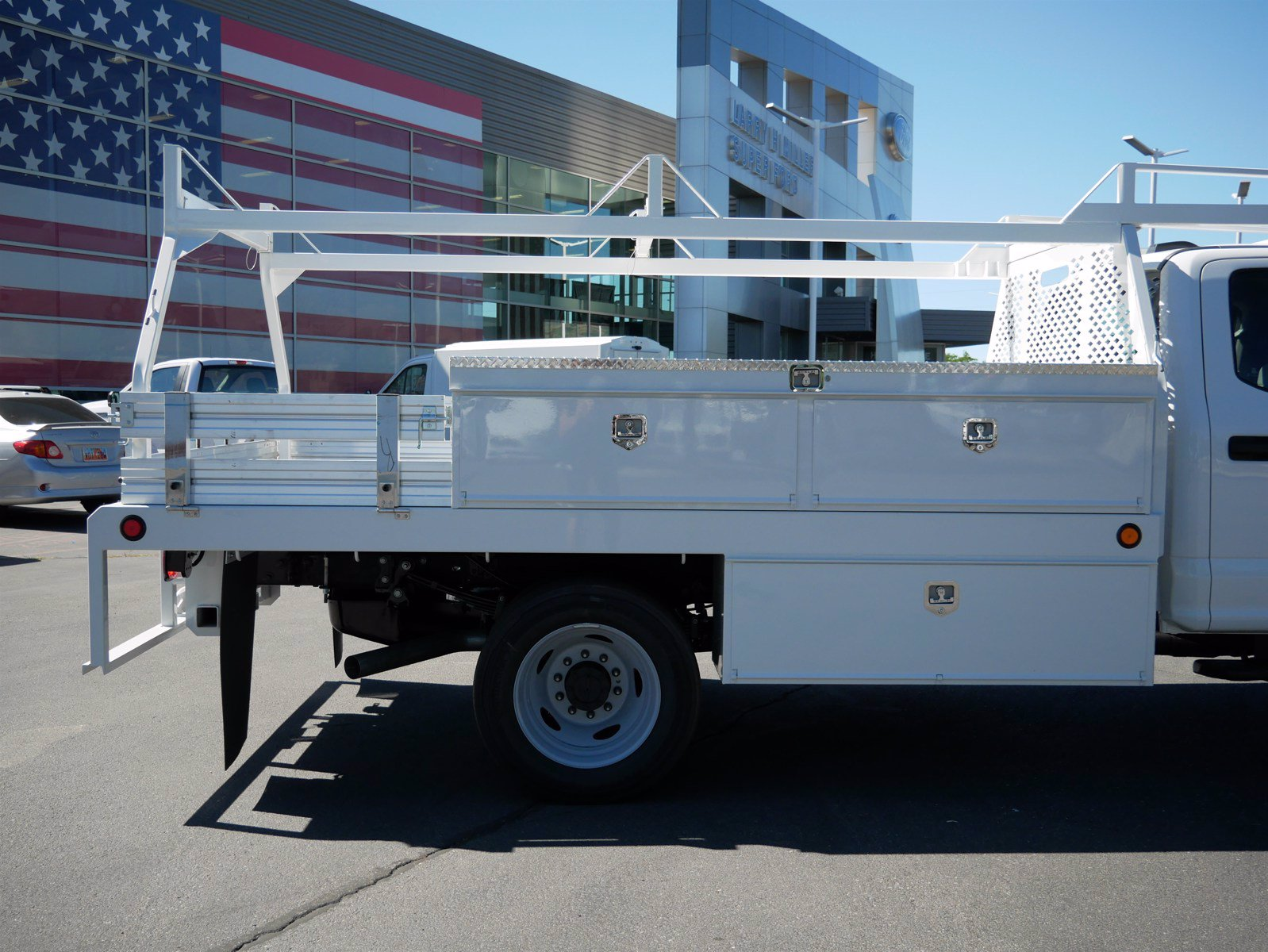 2020 Ford F-550 Crew Cab DRW 4x4, Scelzi CTFB Contractor Body #63112 - photo 12