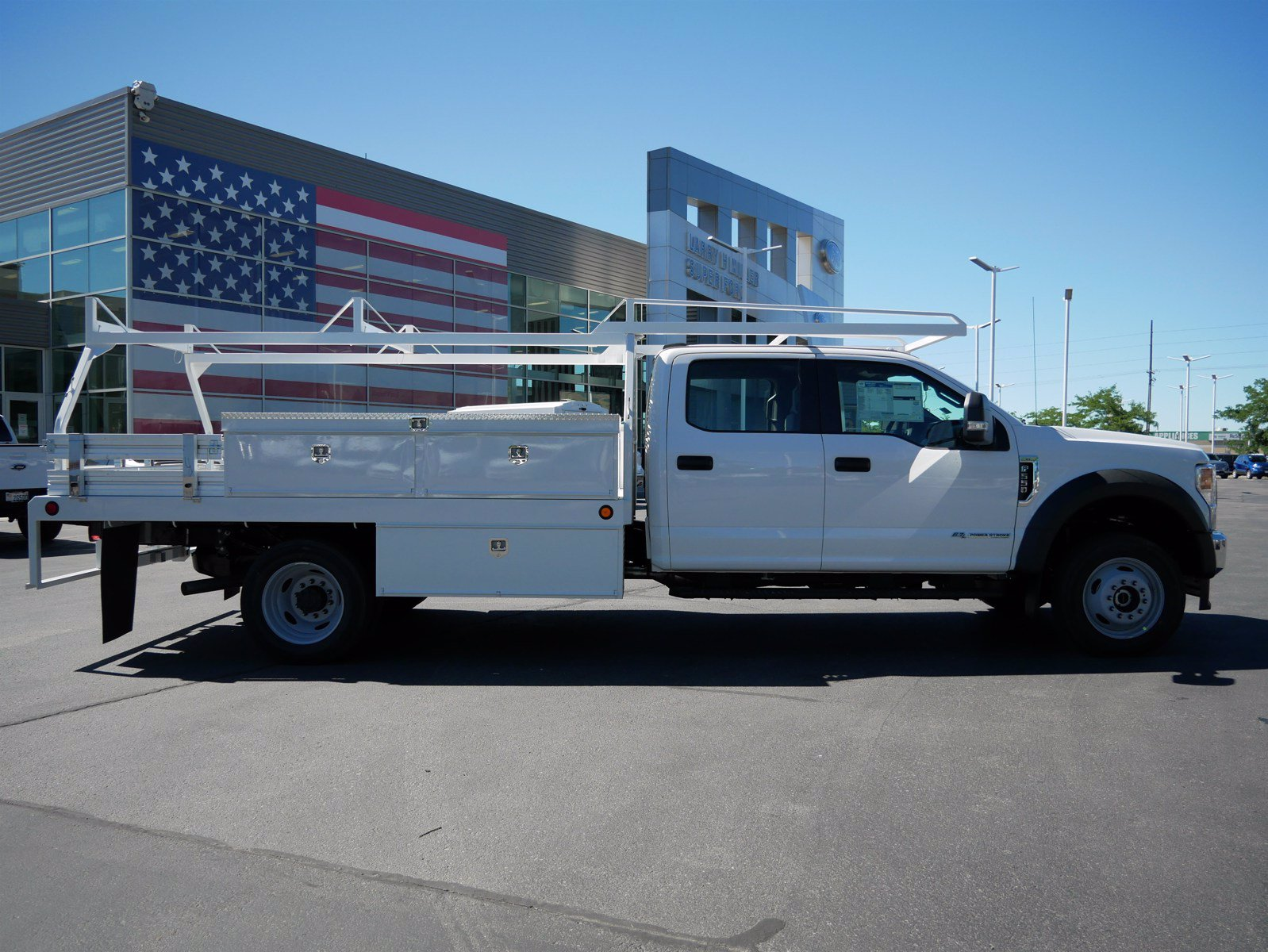 2020 Ford F-550 Crew Cab DRW 4x4, Scelzi CTFB Contractor Body #63112 - photo 3