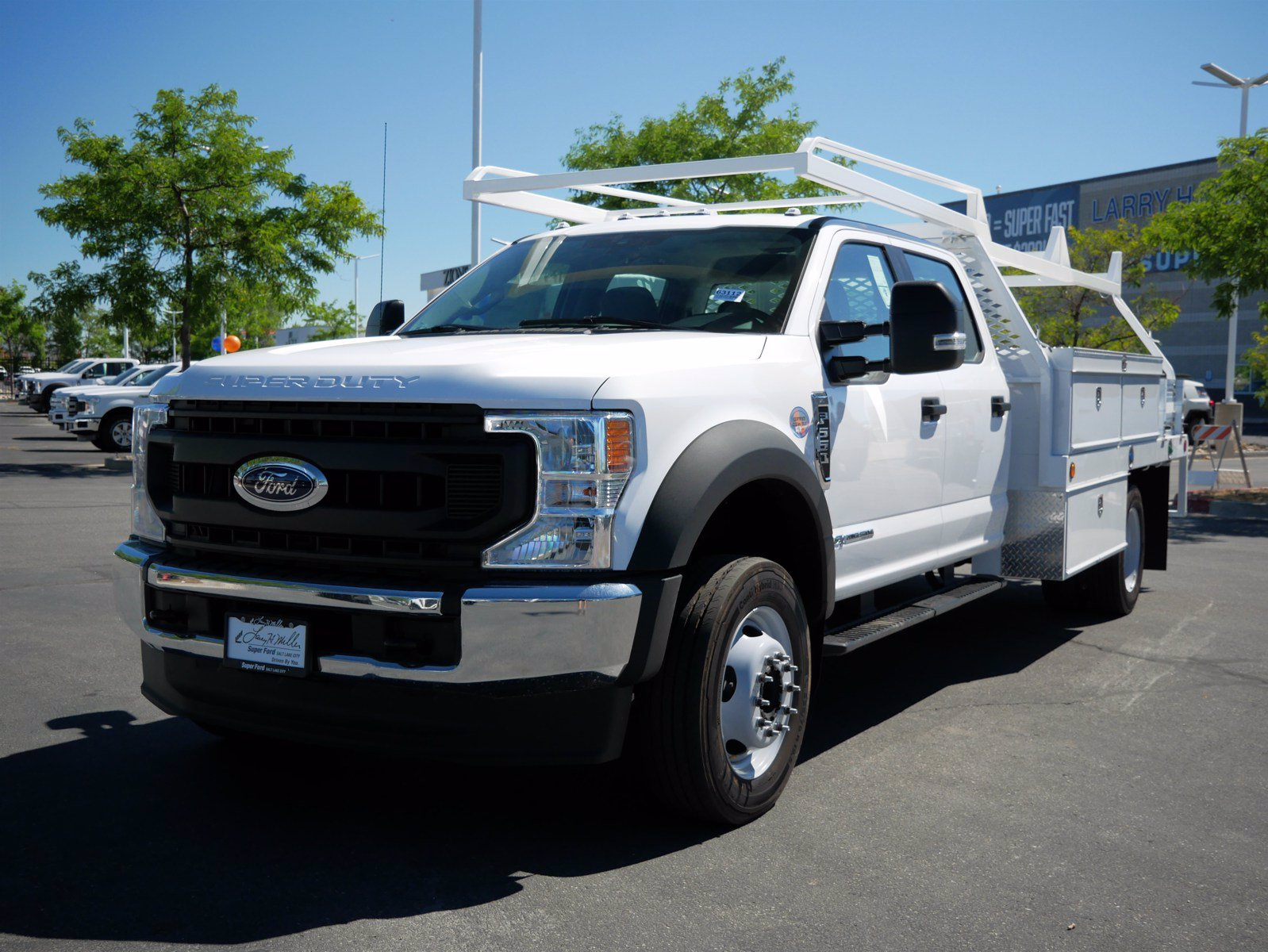 2020 Ford F-550 Crew Cab DRW 4x4, Scelzi CTFB Contractor Body #63112 - photo 9