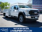 2020 Ford F-550 Crew Cab DRW 4x4, Scelzi CTFB Contractor Body #63112 - photo 1