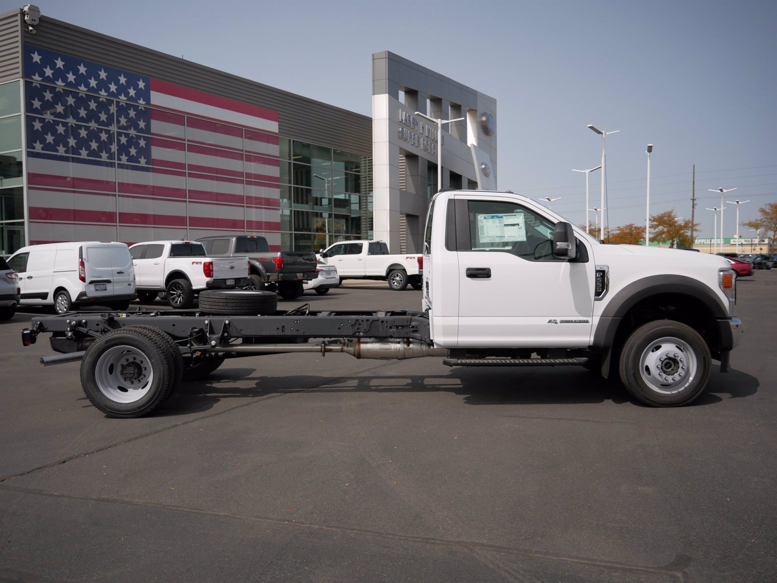 2020 Ford F-550 Regular Cab DRW 4x4, Cab Chassis #63156 - photo 3