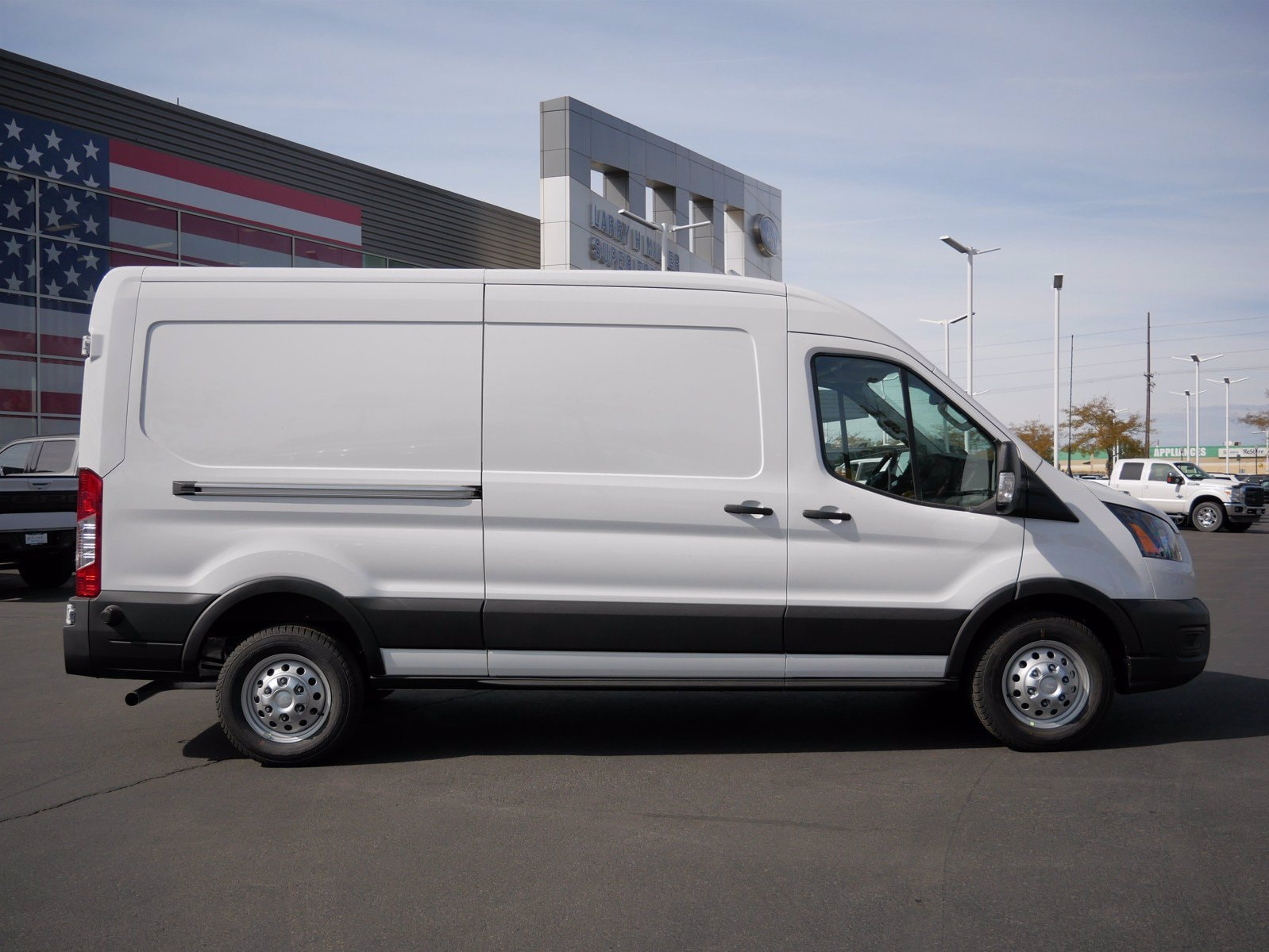 2020 Ford Transit 250 Med Roof AWD, Empty Cargo Van #63191 - photo 1