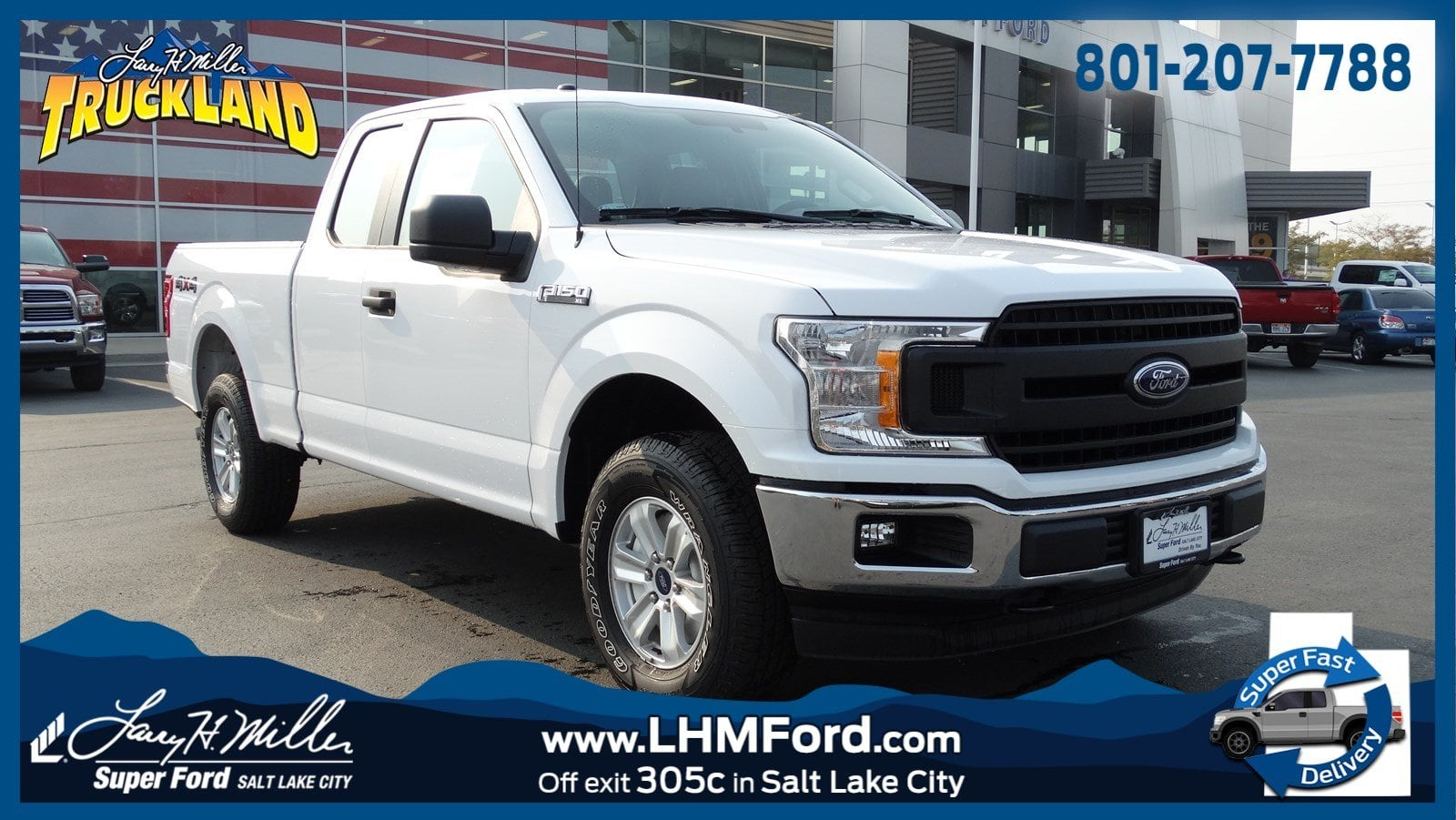 2018 F-150 Super Cab 4x4,  Pickup #68119 - photo 1